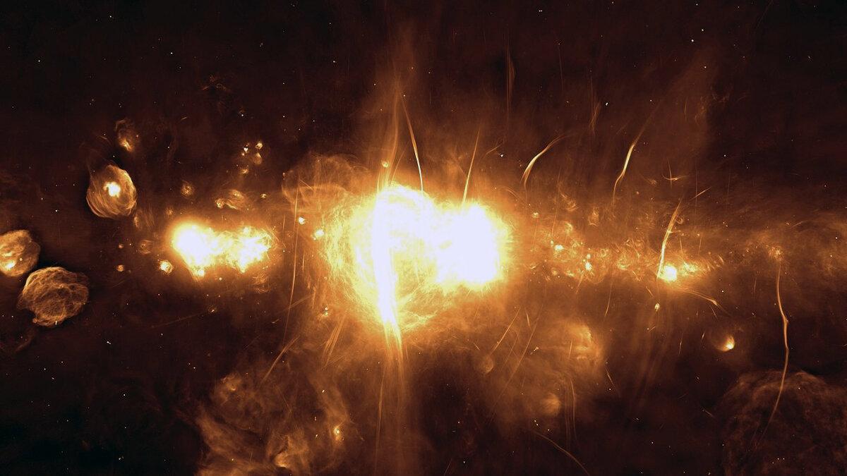 Саме чітке зображення центру нашої галактики